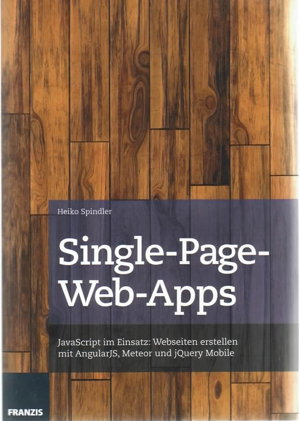 Bild Cover Buch Single-Page-Web-Apps A-Seite